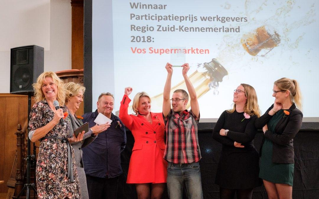 Vos Supermarkten wint Participatieprijs werkgevers