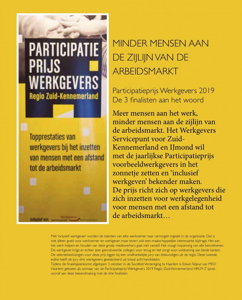 Interviews finalisten Participatieprijs werkgevers 2019 zakenglossy HRLM-Z 18-11-19 copy