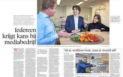 MEO in het Haarlems Dagblad