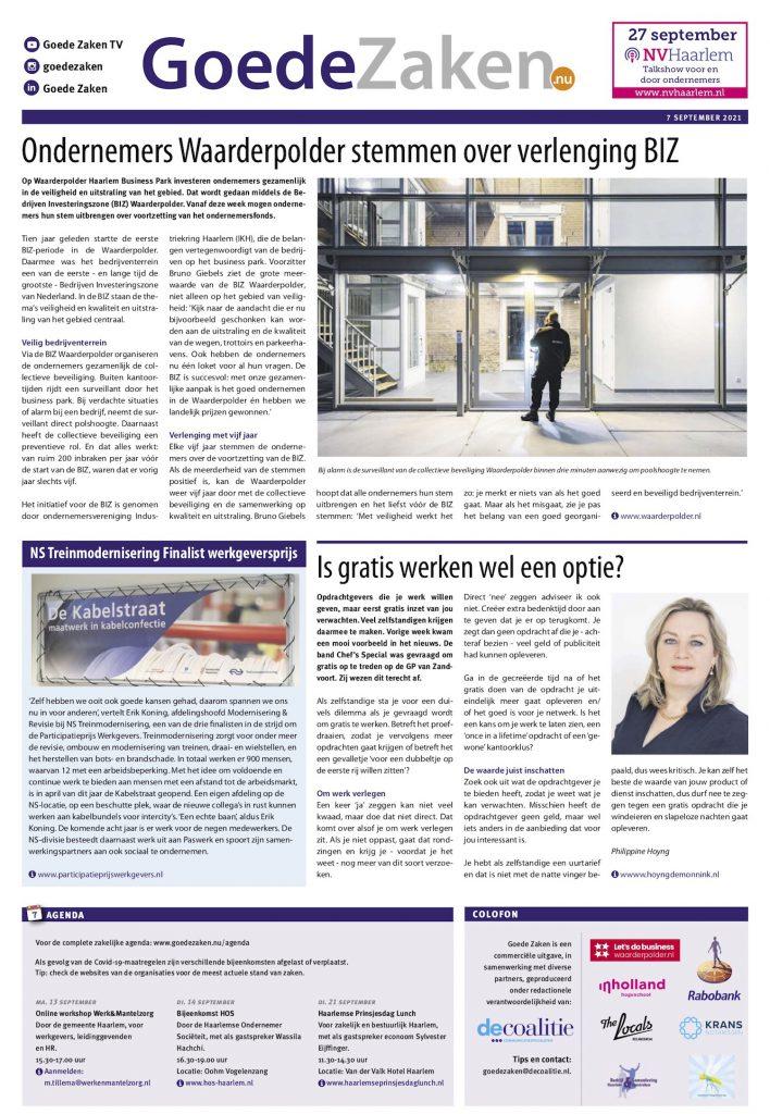 ppw-ns-goed-zaken-haarlems-dagblad-dinsdag-7-september-2021 copy