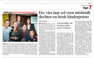 Winnaar MEO in Haarlems Dagblad
