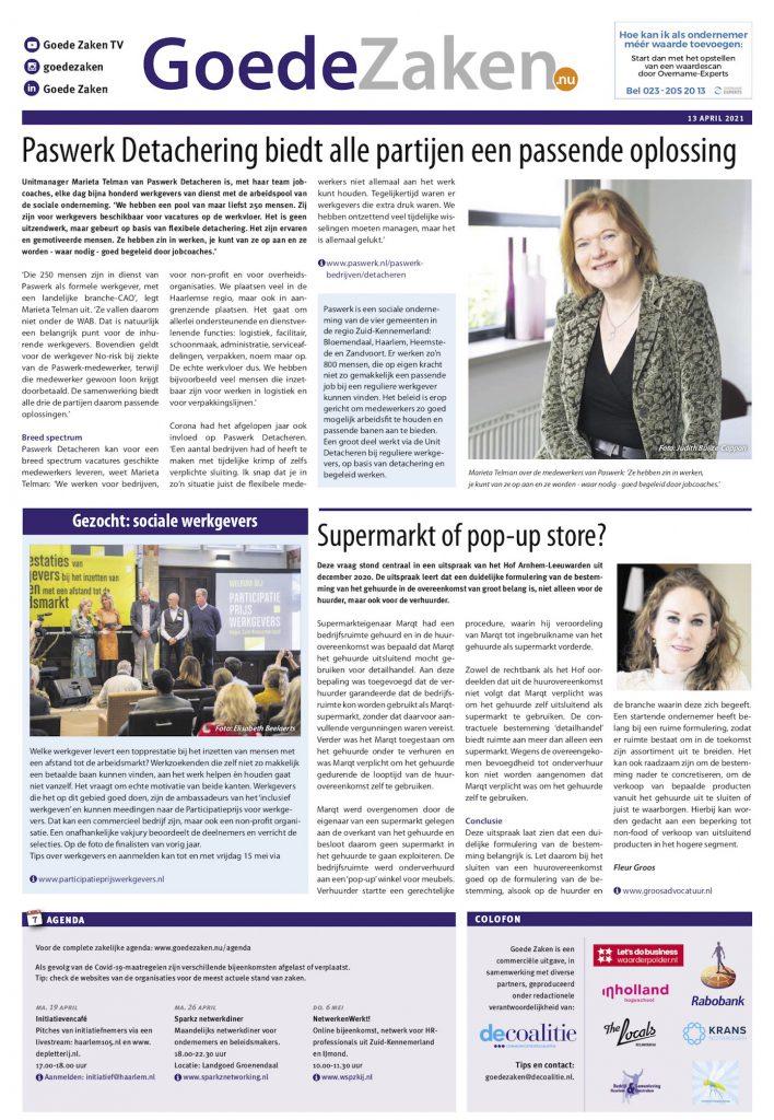 participatieprijs-werkgevers-dinsdag-13-april-2021-haarlems-dagblad-goede-zaken copy 2